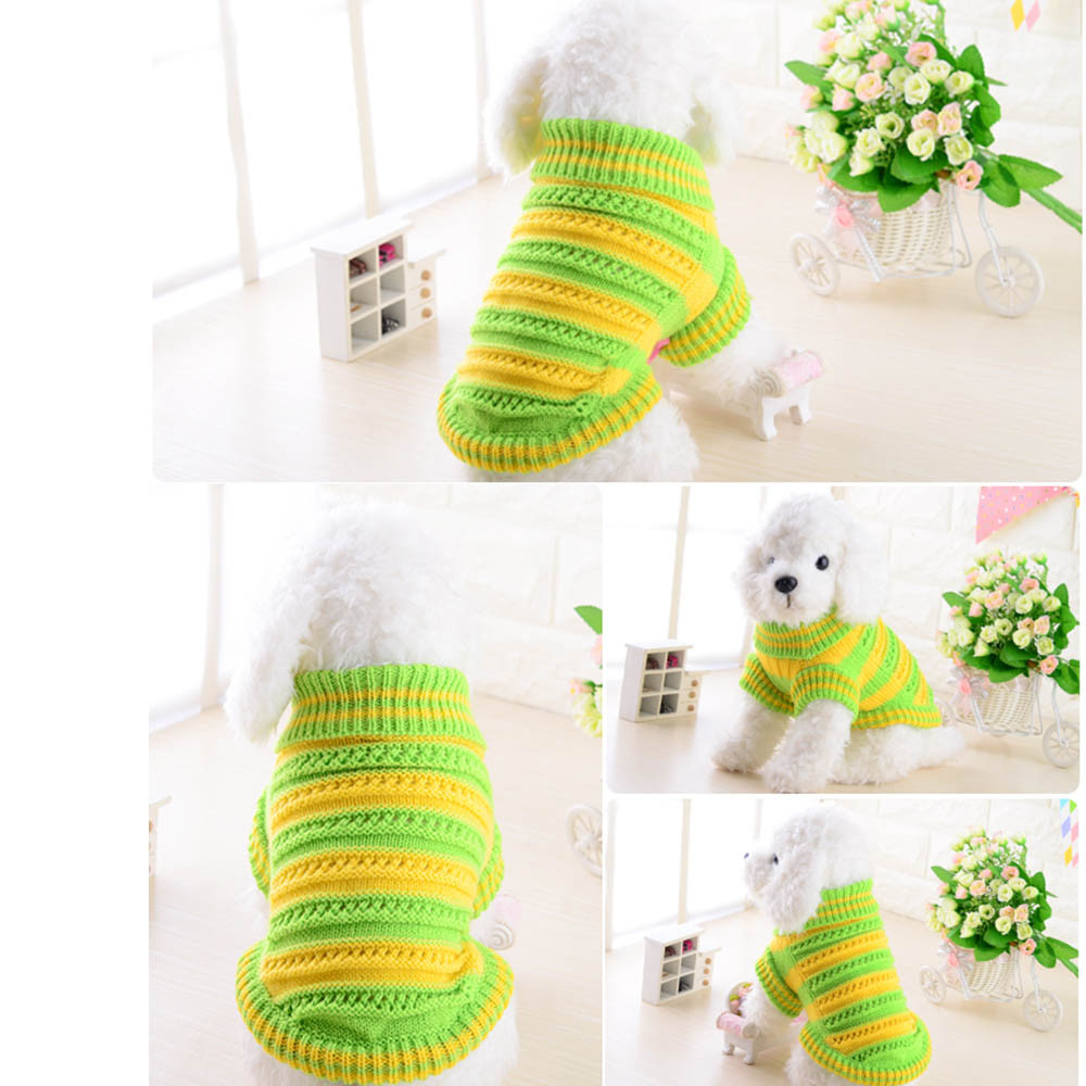Small Dogs Sweater Clothes For Little Pet Dog Winter Openwork Sweater Warm Dog Clothes for Small Dogs Sweaters Winter/Autumn
