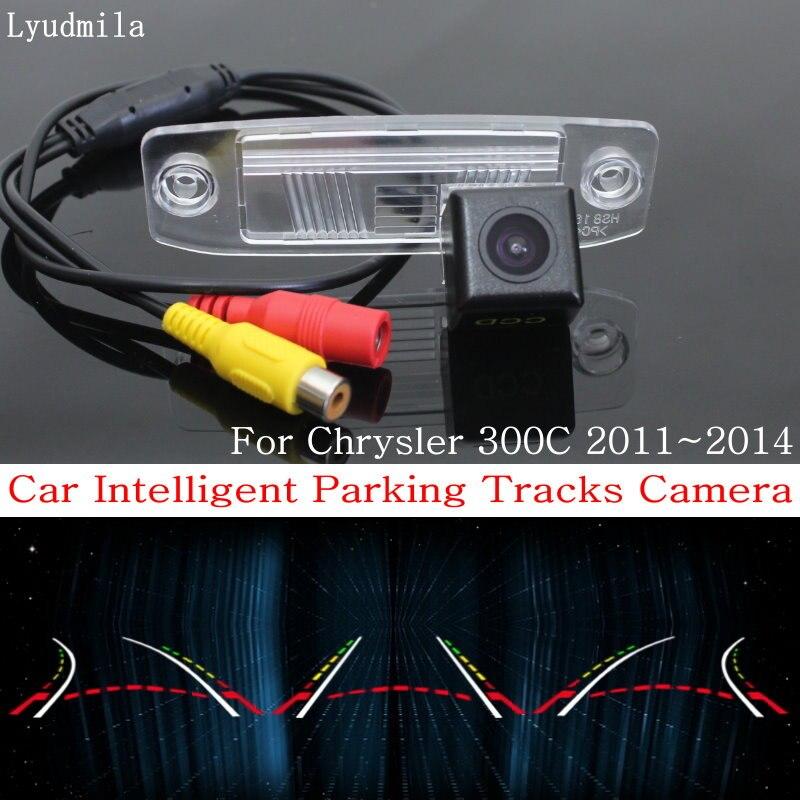 Lyudmila Intelligent Parking Pistes Caméra POUR Chrysler 300C Sebring 2007 ~ 2014 Back up Caméra de Recul/Arrière Vue caméra