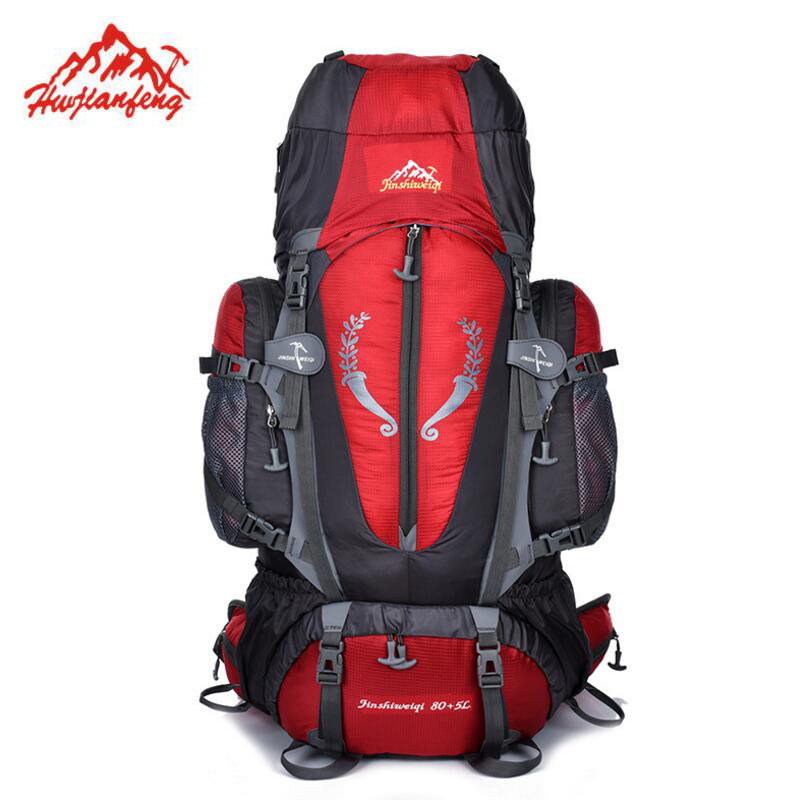 85L Outdoor Backpack Waterproof Sports Bag Large Capacity Camping Hiking Backpack Travel Bags Fishing Climbing Rucksack