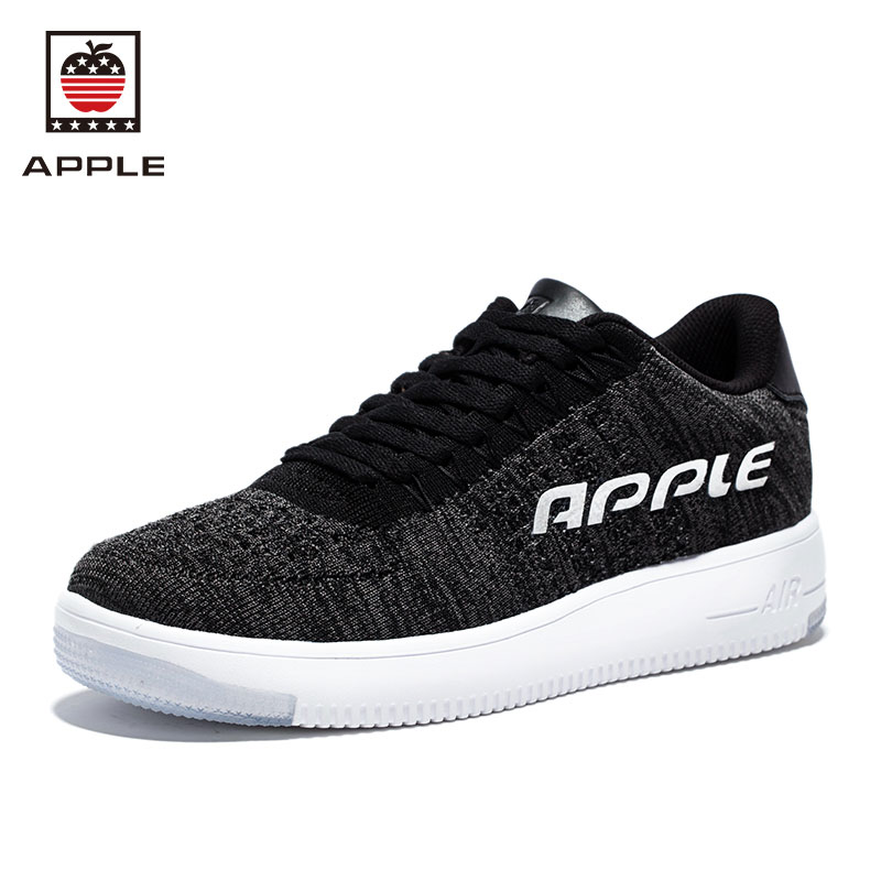 Prix pour APPLE de Hommes Et Femmes de Planche À Roulettes Chaussures Respirant de Skate Sneakers Mâle Sport Stefan Janosking Flykniting Racer Chaussures