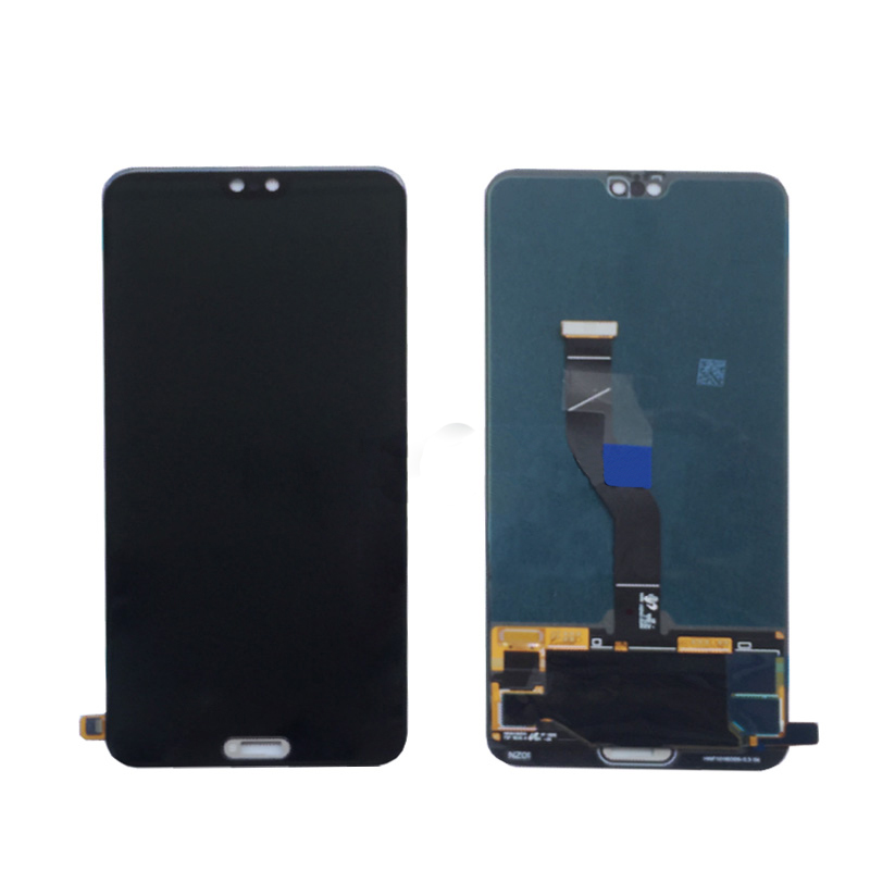 Black For Huawei P20 Pro LCD Screen with Touch Screen Digitizer Glass Panel Free Shipping