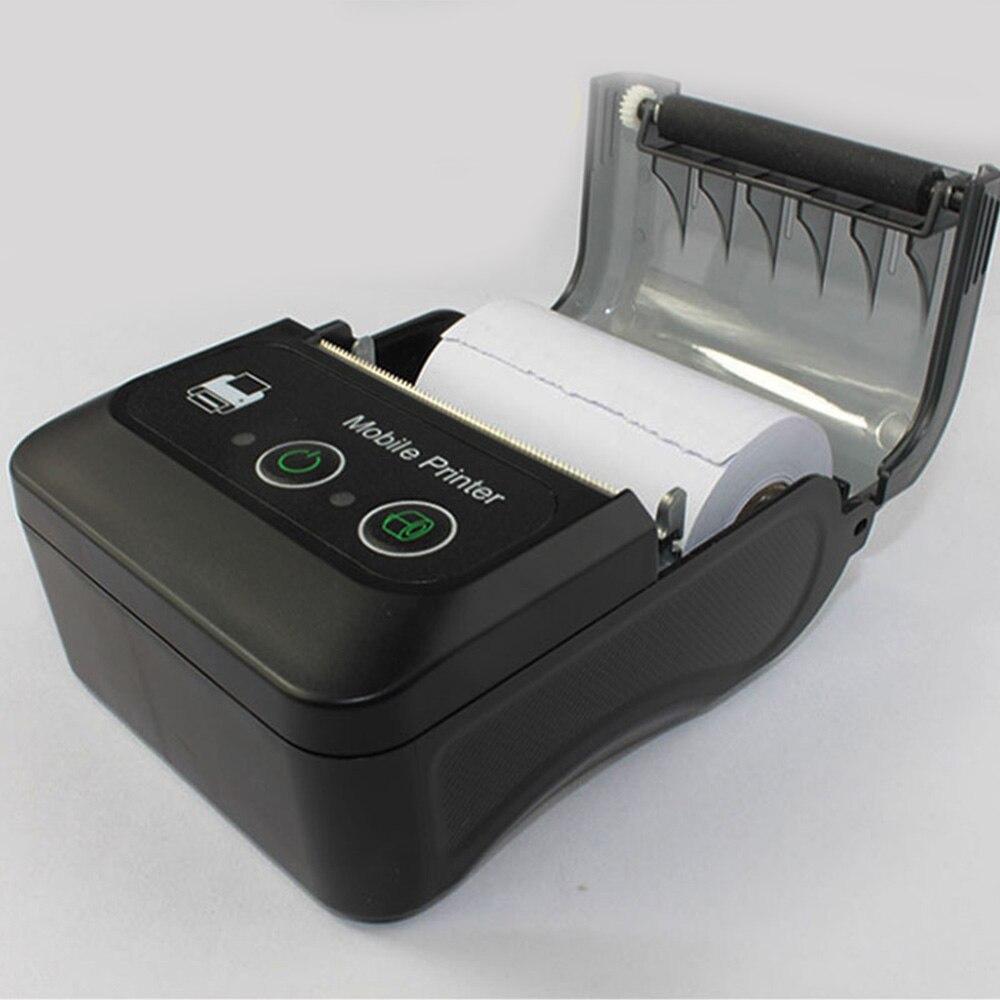Imprimante d'étiquettes thermiques Bluetooth BT QR Code autocollant imprimantes d'étiquettes de codes à barres offre spéciale