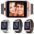 Dispositivos wearable smartwatch dz09 u8 inteligente relógio de pulso homens eletrônica sim tf cartão do bluetooth do telefone para a apple android samsung wach