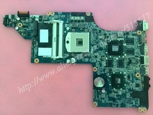 Free Shipping For HP Pavilion DV6 Laptop motherboard 630279-001 DA0LX6MB6H1 REV :H