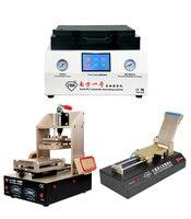 TBK 808 автоматический прибор для устранения пузырьков ОСА вакуумная ламинационная машина + 5 в 1 рамка, станок сепаратор + OCA пленка машина