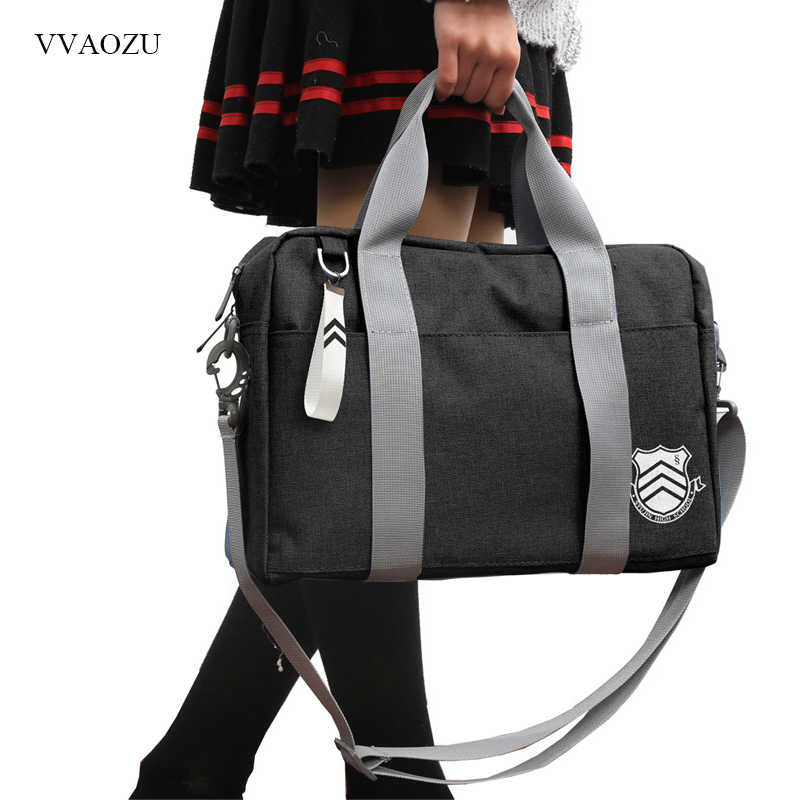 Anime Persona 5 School Bag Persona5 Akira Kurusu Cosplay Japan JK Shoulder Messenger Bag Handbag