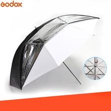 "Godox 33 ""84 centimetri Doppi Strati Riflettenti e Nero Traslucido Bianco Ombrello per Studio Flash Strobe Lighting"