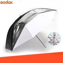 """Godox 33 """"84 см двухслойный светоотражающий и прозрачный черный белый зонт для студийной вспышки стробоскопического освещения"""