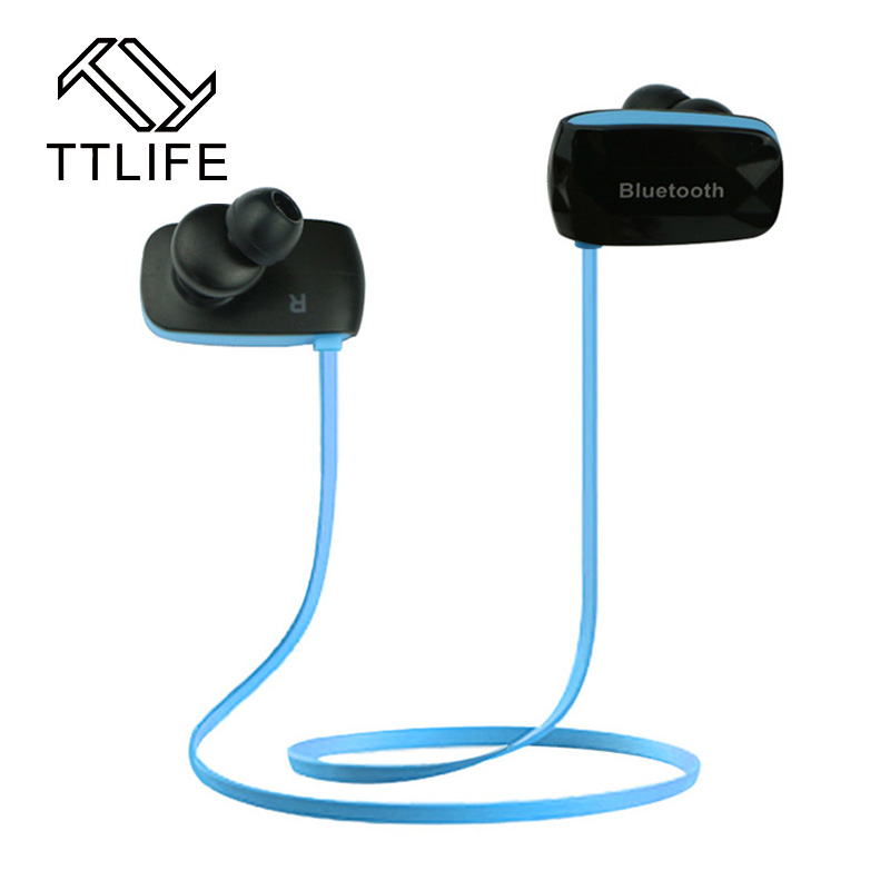 TTLIFE Mini Stereo Wireless Bluetooth Headphone Earphone Sport Running Sweatproof Noise Cancelling Headset For iPhone Xiaomi MP3 ttlife q26 stereo noise cancelling earphone ultra mini car calls bluetooth wireless headset with mic for iphone 7 android psp