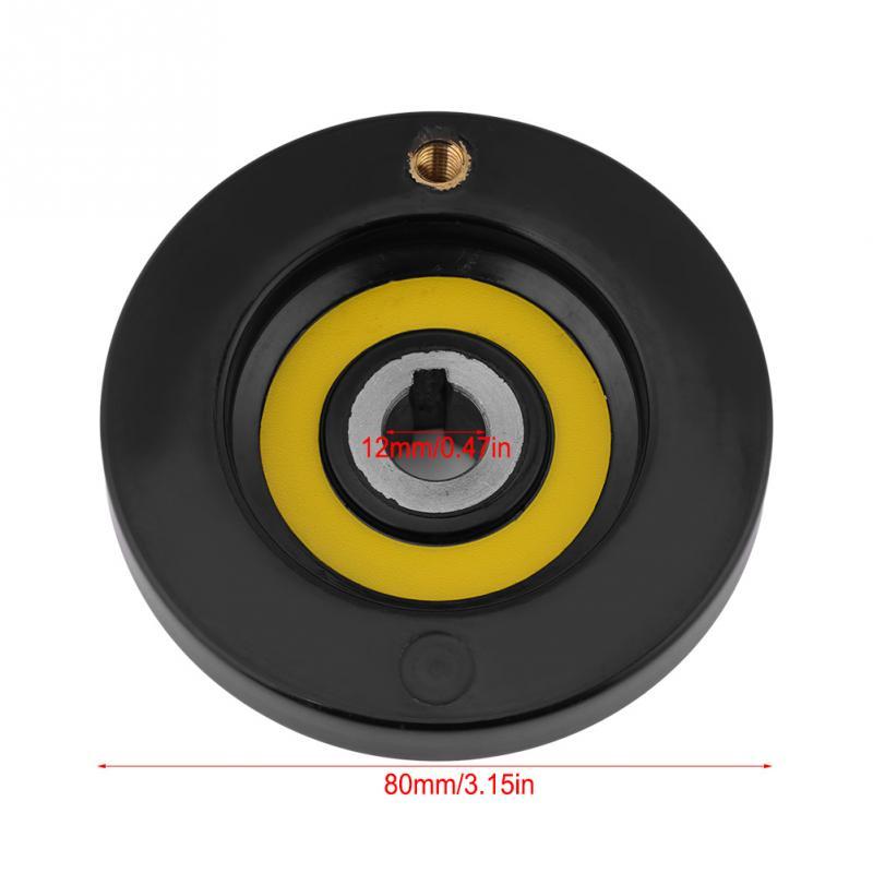 63 мм 80 мм 125 мм 160 мм 200 мм токарный фрезерный станок задний пульсационный маховик с вращающейся ручкой для фрезерного станка токарный станок шлифовальный станок - Цвет: 12x80mm