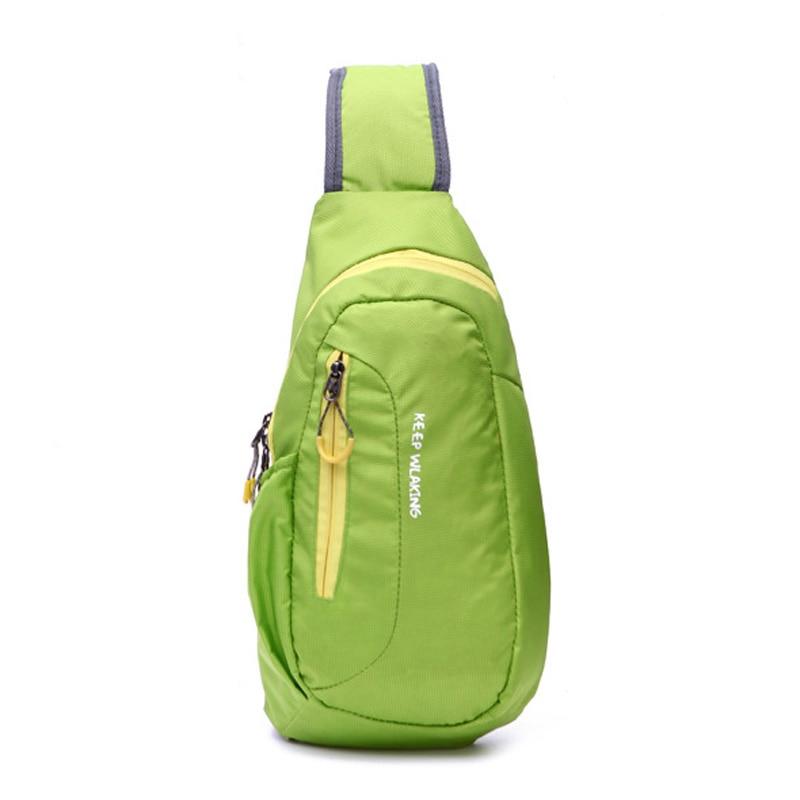 2017 New Waterproof Nylon Cross Body Chest Bags Large Capacity Messenger Bags Small Women Travel Mobile Phone Bag