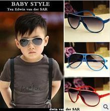 Новые модные детские солнцезащитные очки для мальчиков и девочек