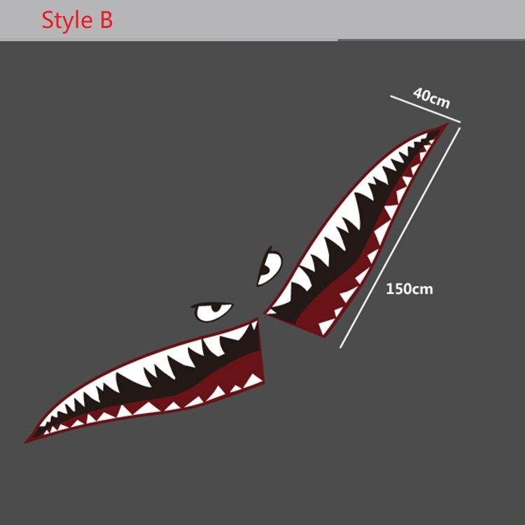 5 x 2 Shark with Closed Mouth Chrome Auto Emblem