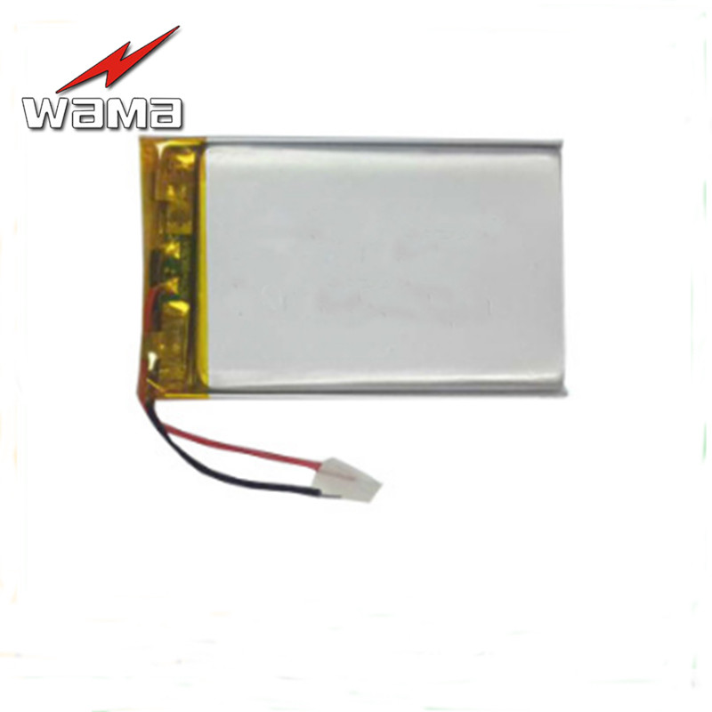 2x Wama 650mAh 3.7V 503048 Polymer Lithium Li-ion Battery For Game Consoles, Smart Wear Electronic Equipment