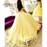 Yellow Quinceanera Dresses Ball Gown Plus Size 15 year old Sixteen Sweet 16 Dress Prom Dress debutante