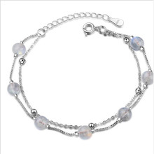 TJP Luxury Crystal Balls Women Bracelets Jewelry Top Quality 925 Sterling Silver Bracelet For Girl Lady Engagement Party