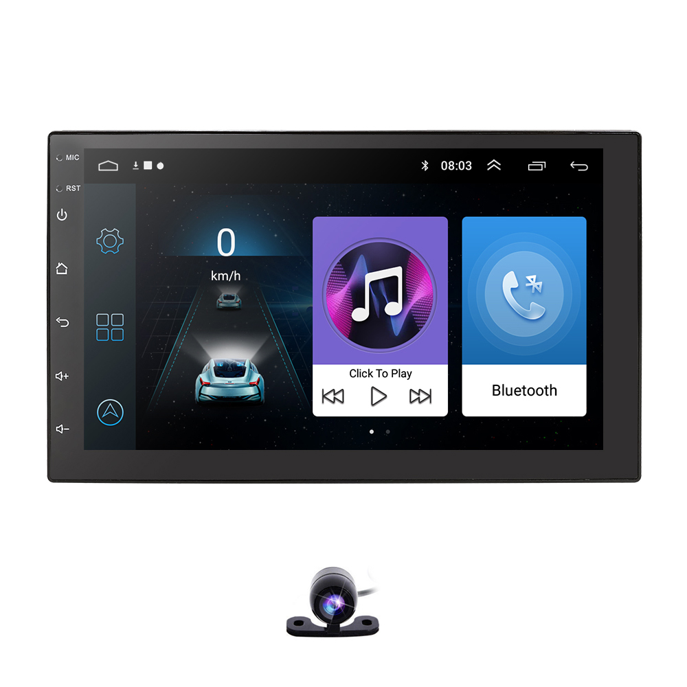 Android 9 0 Quad core 2 Din Car universal radio for nissan qashqai x trail Multimedia