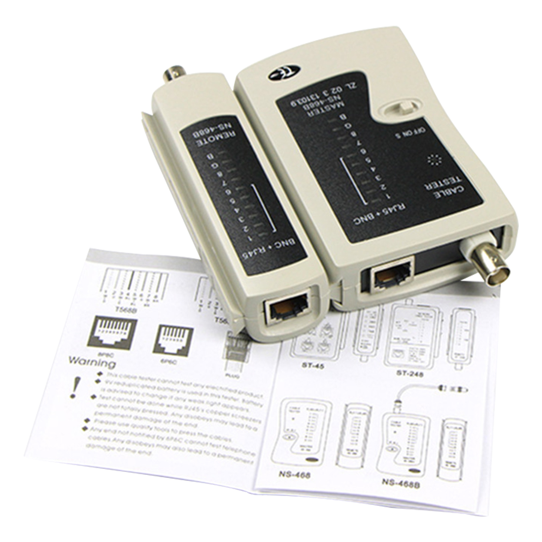 Image 2 - NOYOKERE Hot Sale RJ45 RJ11 RJ12 CAT5 CAT 6 High Quality UTP Network Lan Cable Tester Test Tool-in Networking Tools from Computer & Office