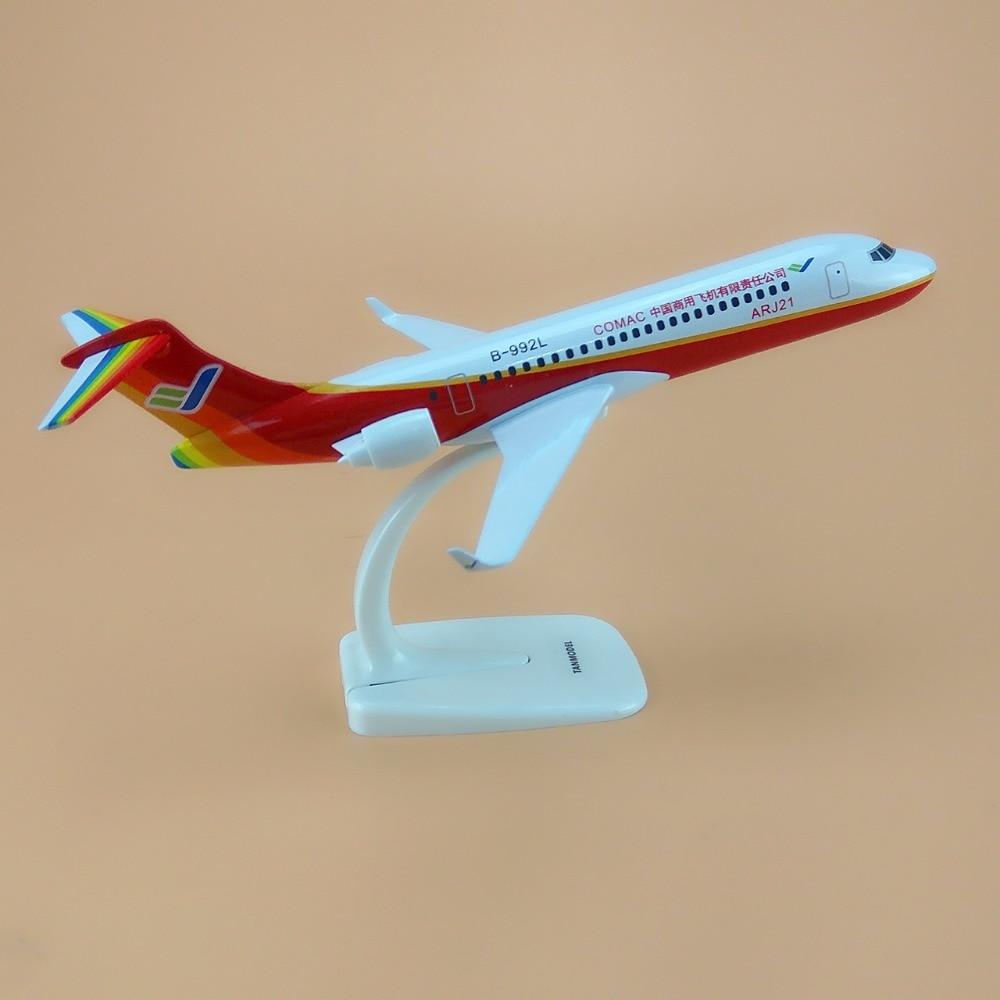 Metal Desk Toy 20 Cm Arj21 Scale Chinese Aircraft Model Plane Plane