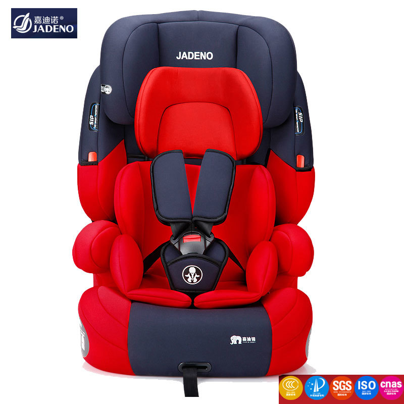 ISOfix Interface Child Car Safety Seat for Kids 9 M~12 Y Five-point Harness Adjustable Baby Car Booster Seat Safety Chair SGS