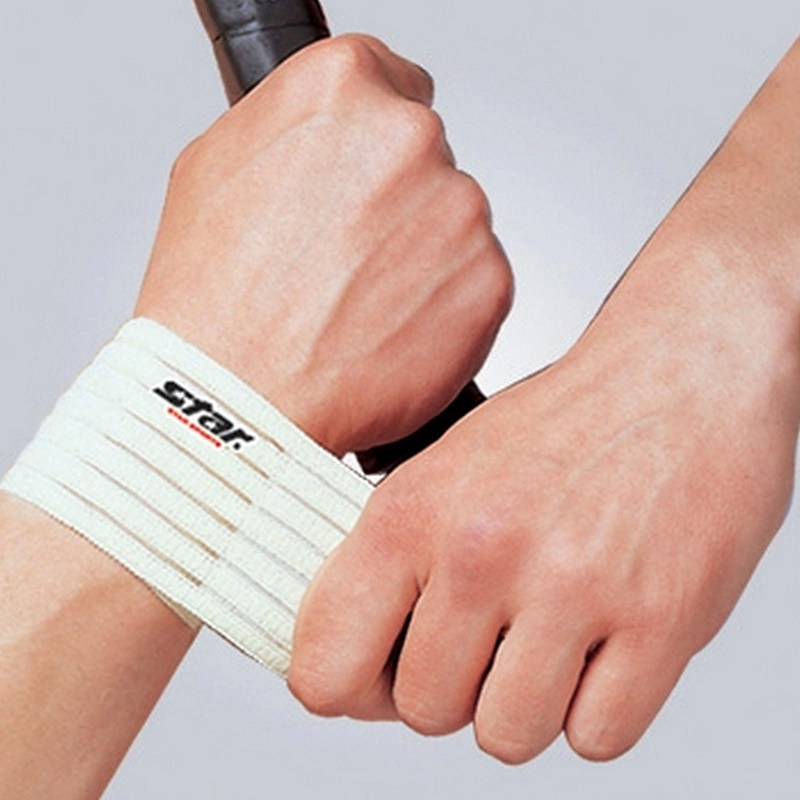 Fitness cotton strength bandage hand wrist straps sport wristbands support wrist protector carpal tunnel wrist brace gym wraps