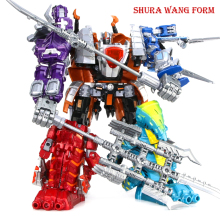 Action Figure Dragon Transformation Robot Children Toys Gifts Dinosaur Ranger Megazord Jurassic Dinosaur Clan цены