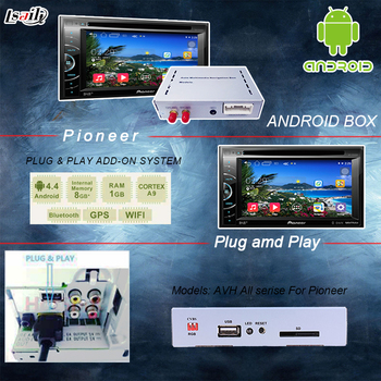 Universal Android 6 0 GPS navigation box for pioneer unit with cast screen  bluetooth wifi