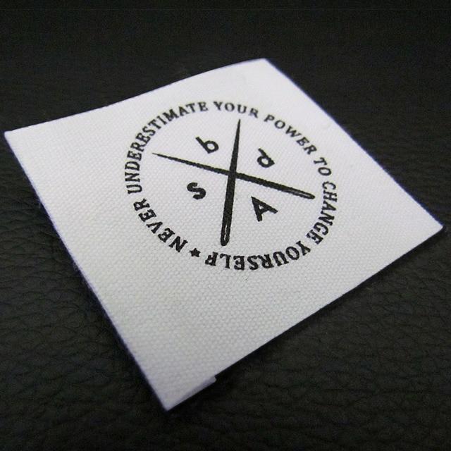Favori Étiquettes personnalisées pour les vêtements, coudre en tissu  MB01