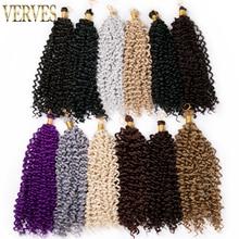 Curly Crochet extensions Braiding