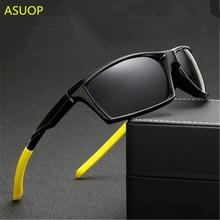 ASUOP 2019 new polarized ladies sunglasses UV400 square mens classic fashion brand designer sports driving glasses