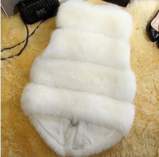 Vestes Femme Nouveau D'hiver 2018 Manteau En Taille De Z116 Fourrure Fausse Chaud Faux Femmes Gilets Gilet La Plus Artificielle wxwrqP5d7