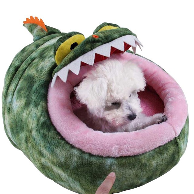 Dinosaur Style Puppy Dog House Cat Bed Cat House For Small Pet Cat