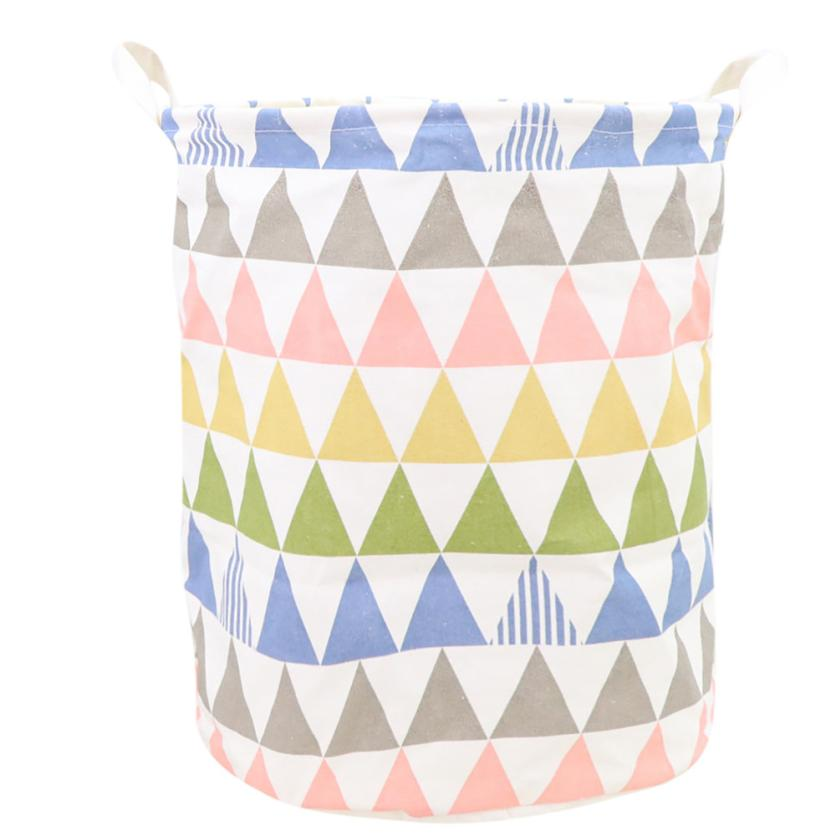 Waterproof Canvas Sheets Laundry Clothes Laundry Basket Storage Basket Folding Storage Box cesto ropa sucia High Quality A70