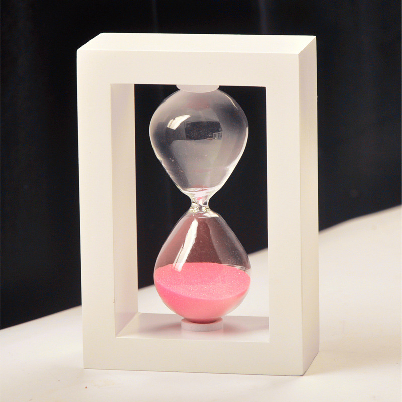 Draw Frame sand clock 10 min, Heart sand glass, Kids gifts home new home decorative, Romantic, pure, arts and crafts party