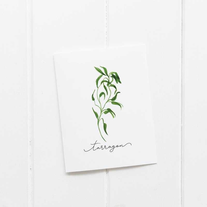 Коллекция трав настенные художественные плакаты на холсте картина орегано шалфей розмарин Василий Тимьян Акварельная Настенная картина печать кухонный Декор