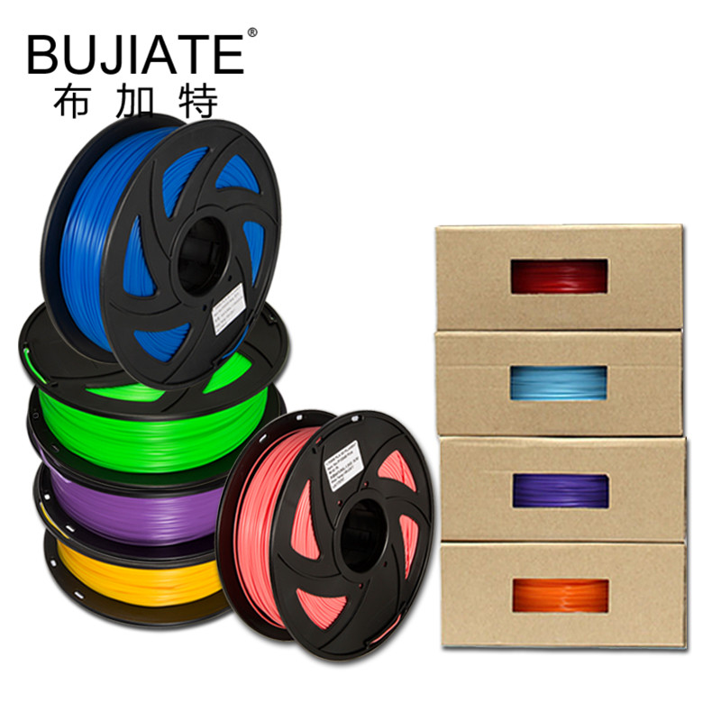 1KG PLA 1.75mm Filament Plastic Printing Material Colorful For 3D Printer Extruder Extrusion Rainbow Accessories Black White Red pla 1 75mm filament 1kg printing materials colorful for 3d printer extruder pen rainbow plastic accessories black white red gray