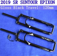 2019 New Style SR SUNTOUR EPIXON Bicycle Fork 26 / 27.5 / 29 Mountain MTB Bike Fork remote and manual of OIL air damping