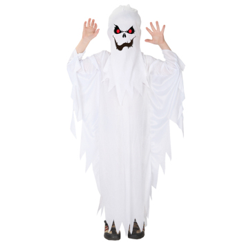 Spooky Scary White Ghost Halloween Costume