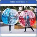 Freies Verschiffen 100% TPU Material 1,5 mt Aufblasbaren Fußball Aufblasbare Stoßkugel Aufblasbare Zorb Kugel Blase Fußball
