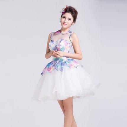 Livraison gratuite peterpan col floral impression robe tutu/lolita/robe frenchmaid