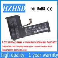 7.5 V 31Wh/32WH 4140 MAH/4300 MAH 0813007 Bateria Do Portátil Original Para Lenovo IdeaPad 120 S 5B10P23779 2ICP4/59/138