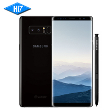 New Samsung Galaxy Note 8 N9500 6GB RAM 64GB ROM Dual Back Camera 12MP 6.3inch Octa Core 3300mAh Android 7 Smart Mobile Phone