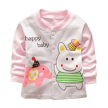 Baby Girls Boys Jacket Spring/Autumn Infant Clothes Long Sleeve Baby Coat Outerwear Toddler Boy Girl Jacket new(China)