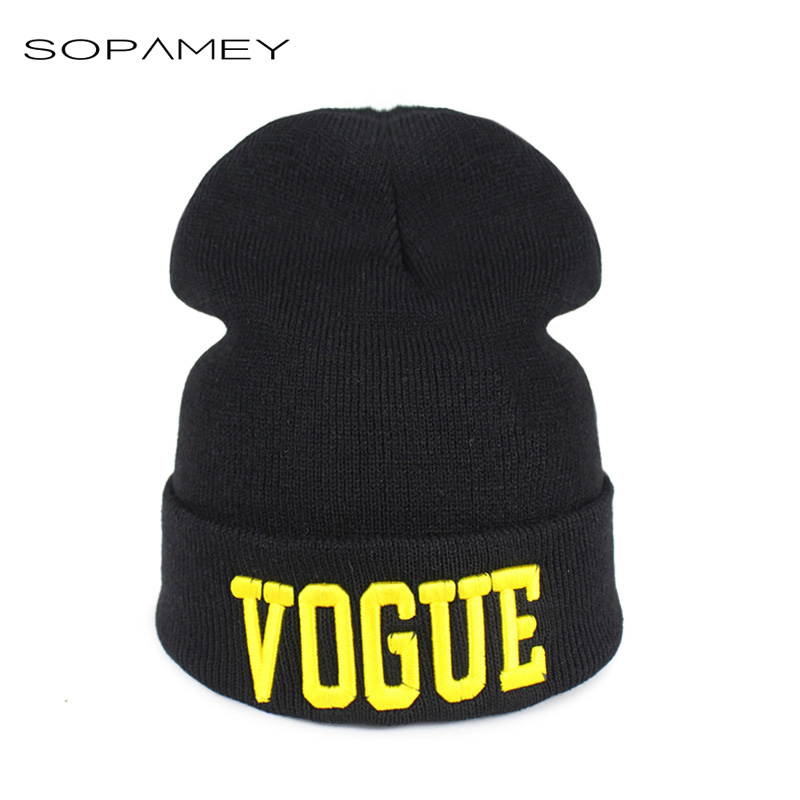 Autumn Winter Hat Bone VOGUE Warm Sport Beanies Knitted Hats for Women Men Beanie Ski Caps De Inverno Gorros Skullies Beanies winter hat casual women s knitted hats for men baggy beanie hat crochet slouchy oversized ski caps warm skullies toucas gorros