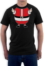 d0a43a0c Xmas Rude Fat Santa T shirt Men Cheeky Funny Elf for Christmas gift tee USA  Size