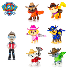 Paw Patrol Dog Toys Puppy Tracker variant toy animated character action model marshall prototype children gift