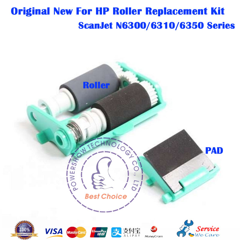 Original New ADF Roller Replacement Kit L2700 60008 L2701A For HP Scanjet N6310 N6300 N6350 HP6310