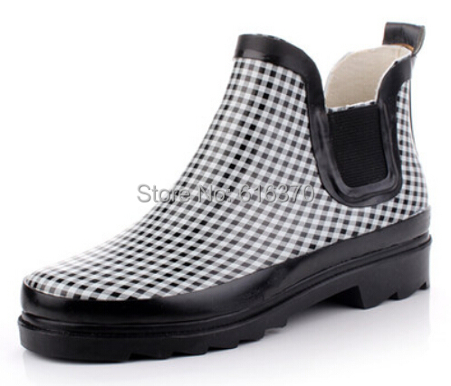 Aliexpress.com : Buy Free Shipping,Men's Low Top Rainboots Ankle ...