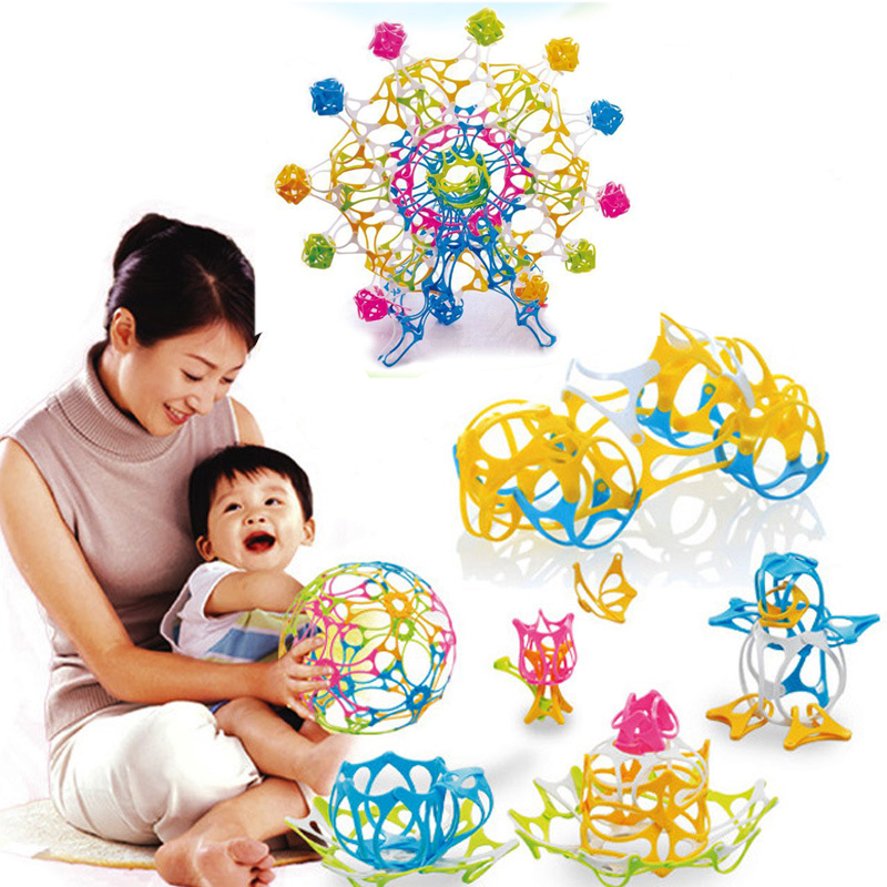 Toys And Brain Development In Kids : D building block toy for children cognitive brain