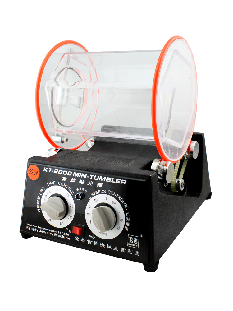 Heißer Verkauf KT-2000 Schmuck Trommel Polieren Maschine, Schmuck Polieren Trommel, Rock Polieren Tumbler